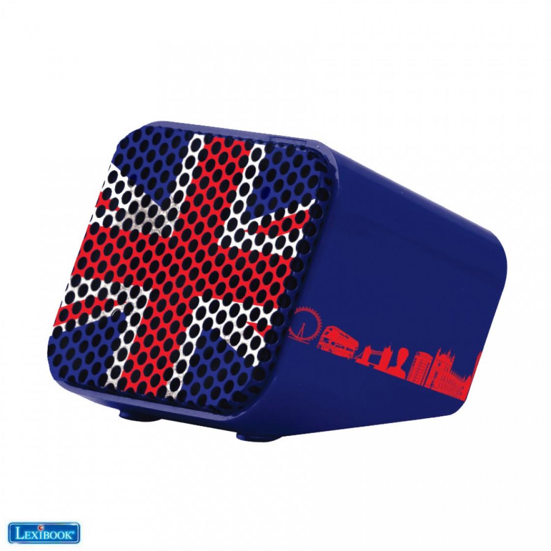 Mini Bluetooth® Speaker 3W Union Jack