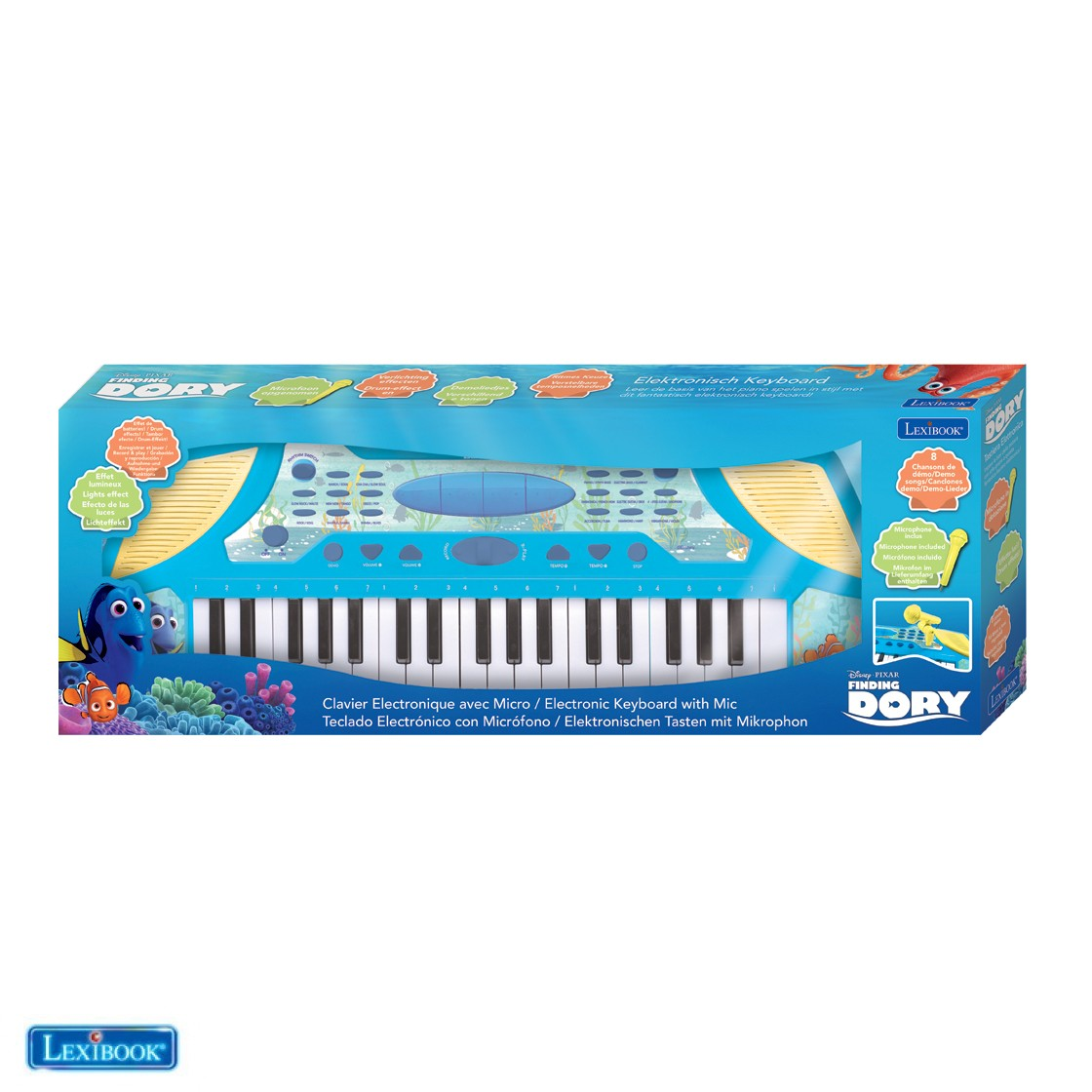 electronic keyboard with microphone dory. Black Bedroom Furniture Sets. Home Design Ideas