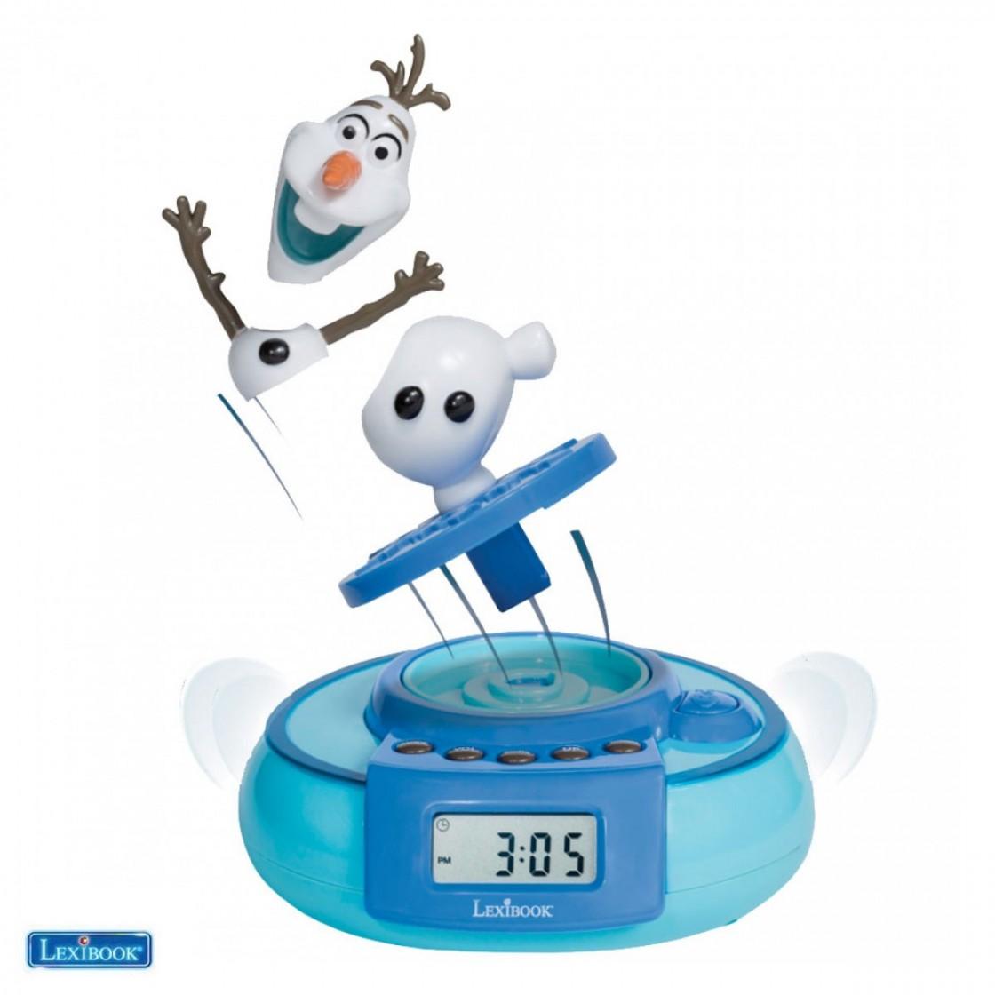 lexibook frozen projector alarm clock instructions