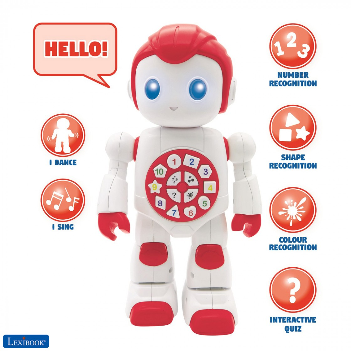Powerman Baby Smart Interactive Toy Learning Robot Toy for ...