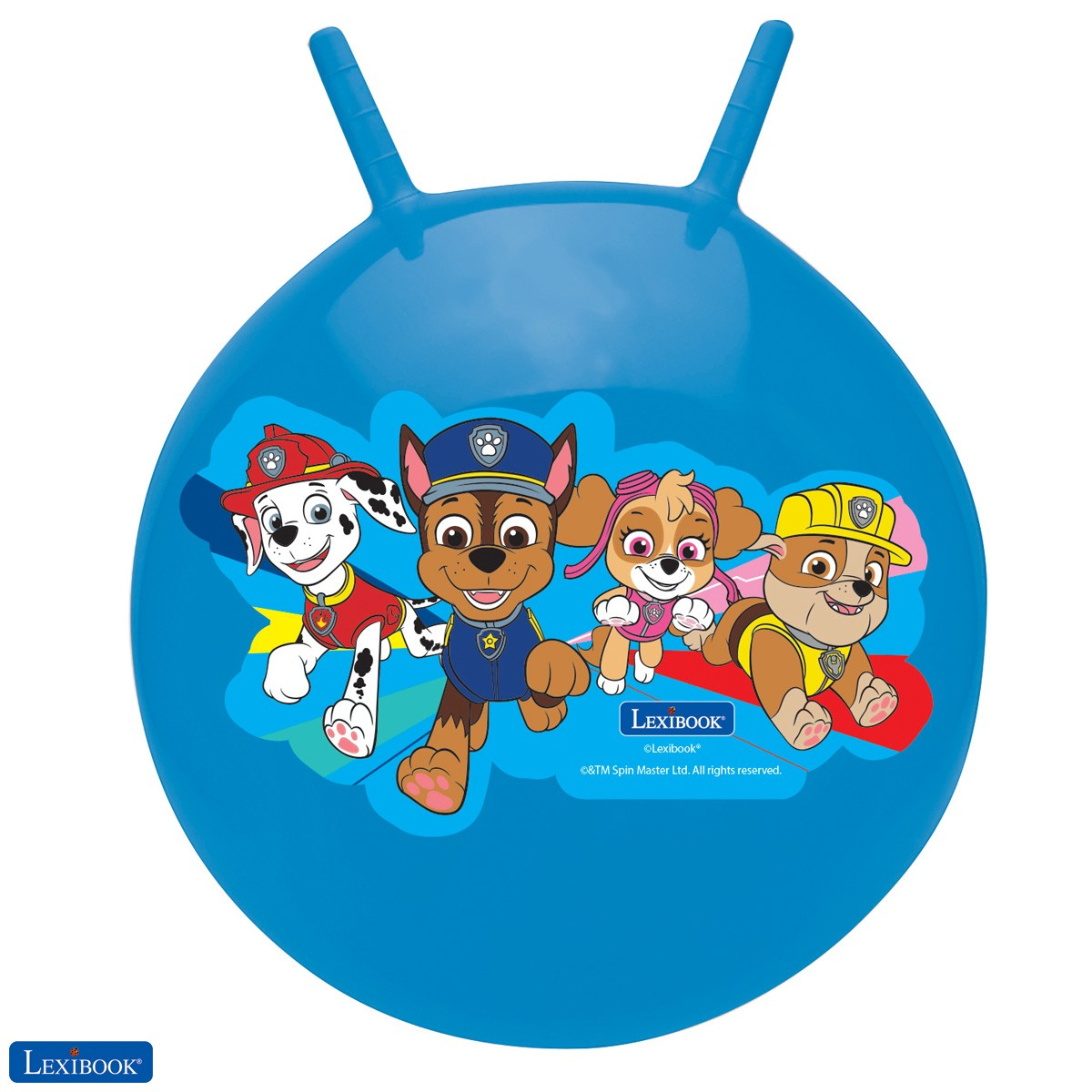 Paw Patrol Space Hopper, Manual pump included