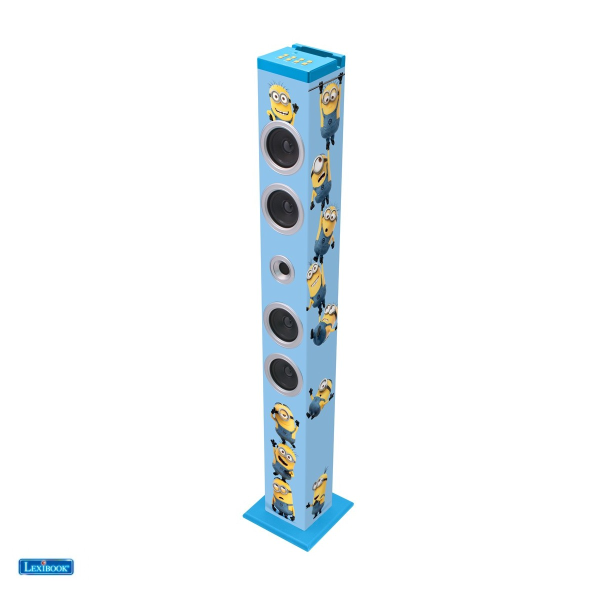 BT900DES - Tour de son Bluetooth Minions - vue 1