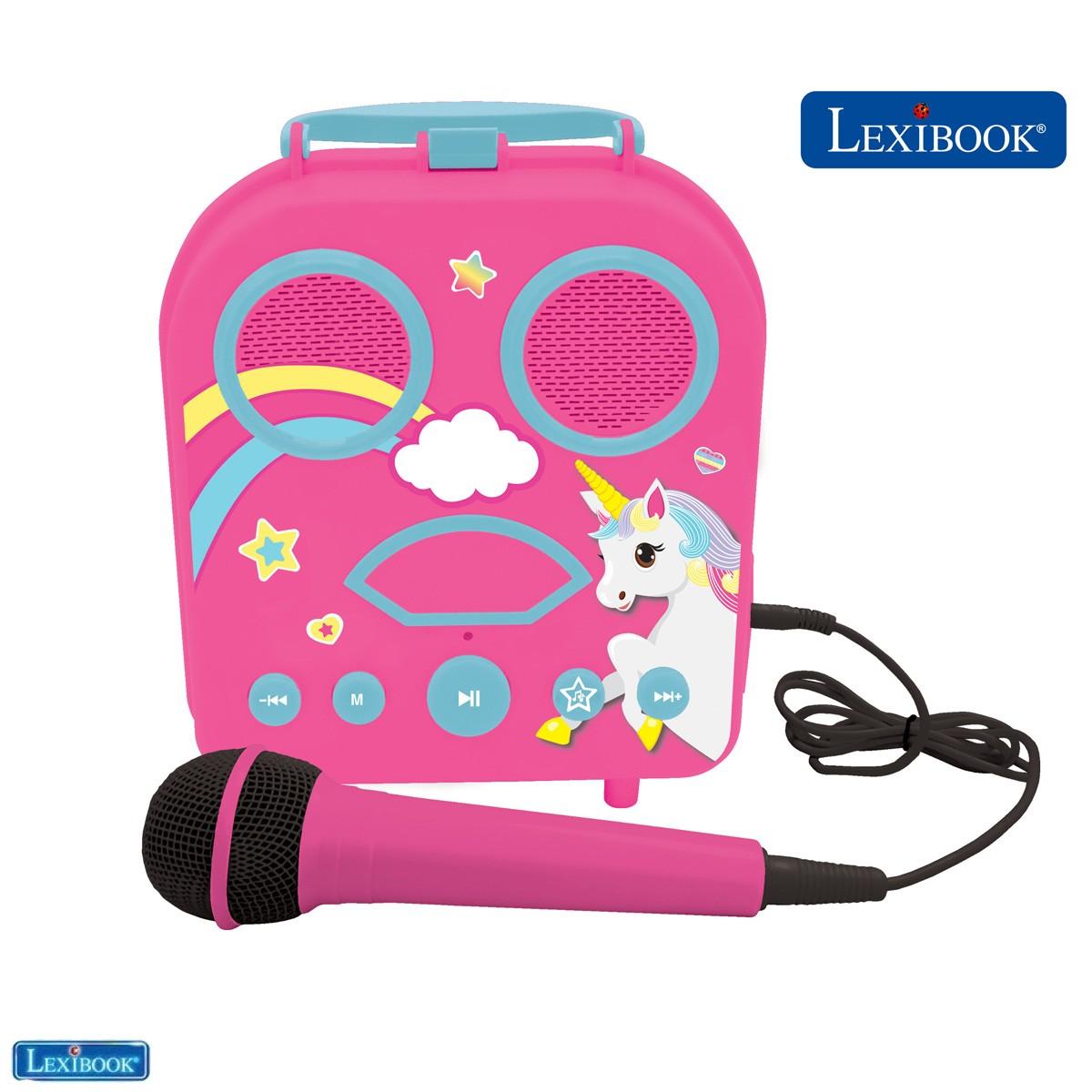 Portable karaoke with Microphone