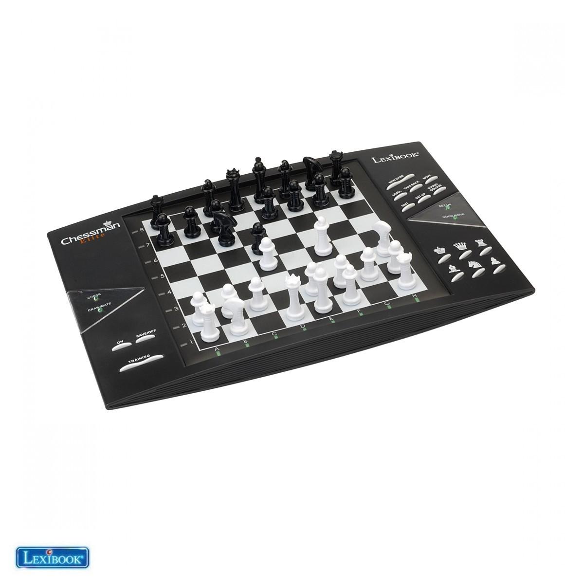 ChessMan® Elite, Jeu d'échecs électronique avec clavier sensoriel - Lexibook