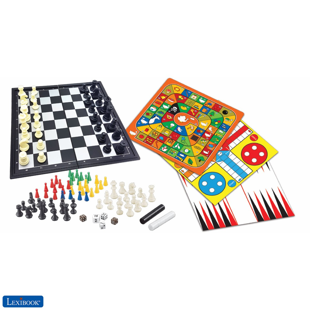 8-in-1 games set, Chess