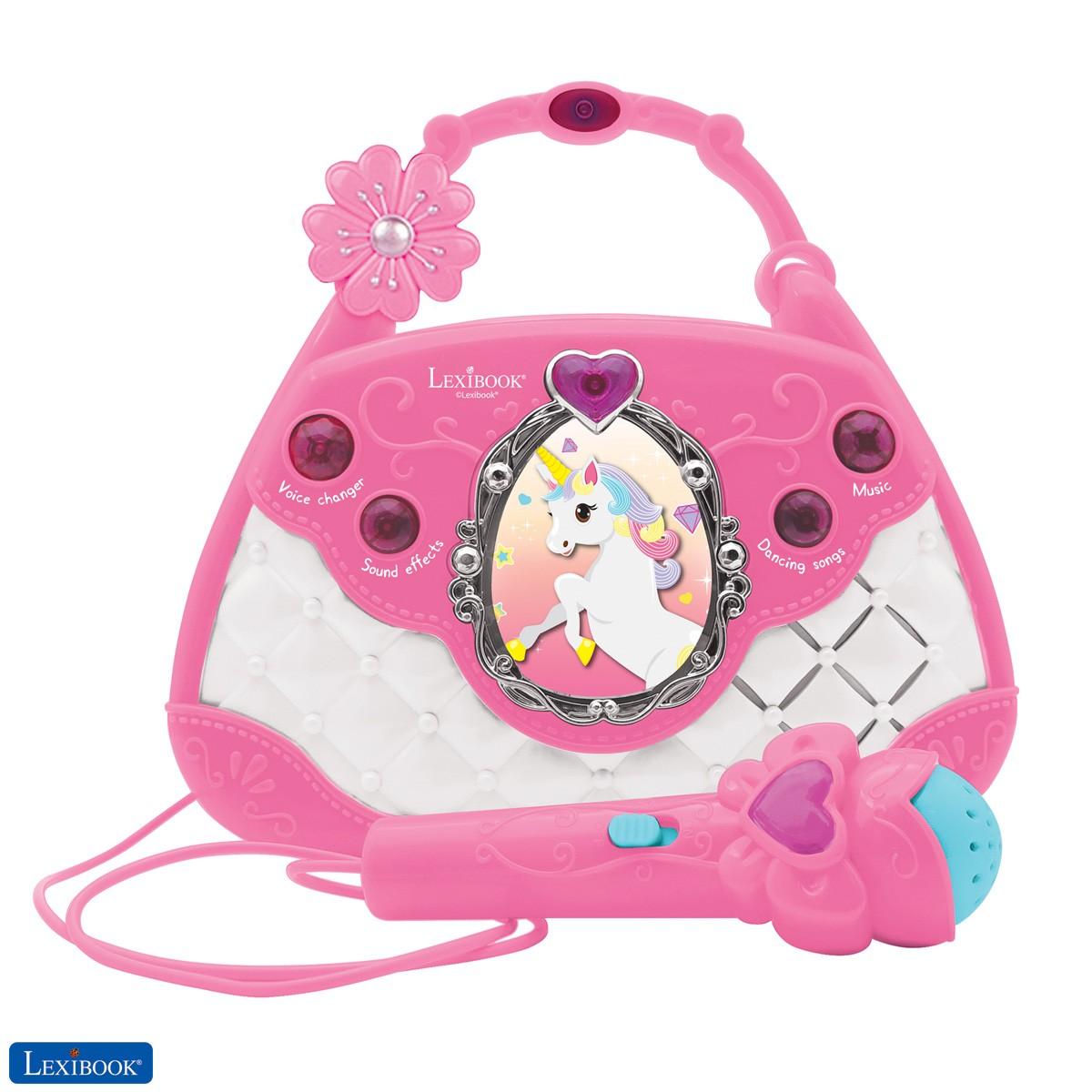 Unicorn Karaoke Bag with Microphone