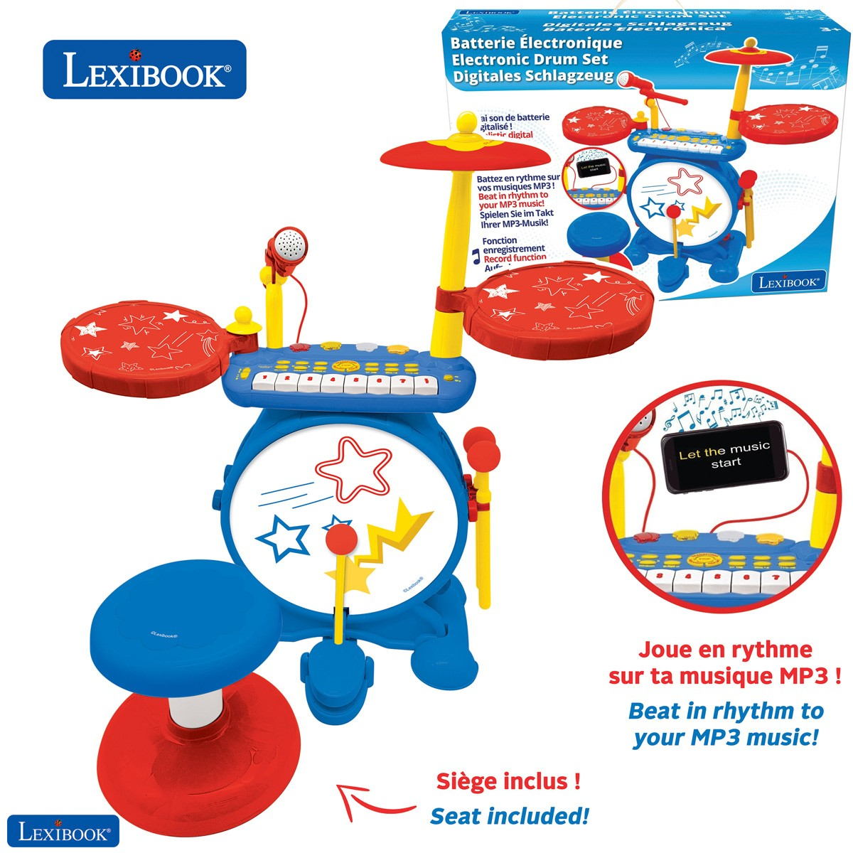Electronic Drum Set for children