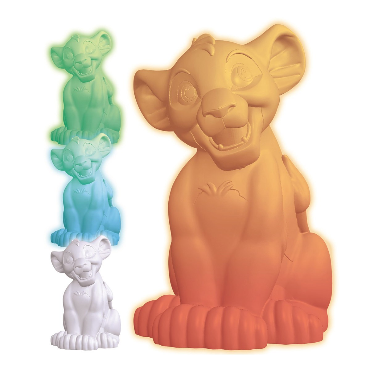 Simba The Lion King Multicolour Nightlight