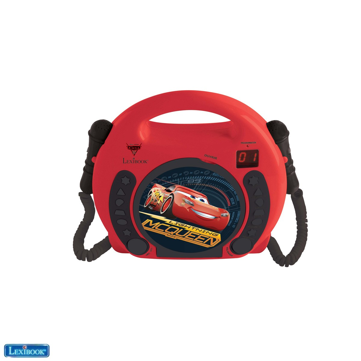 Cars 3 CD player