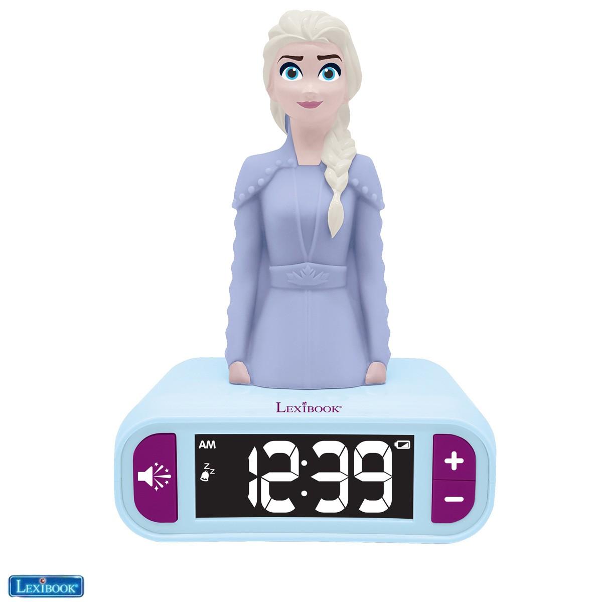 Elsa Frozen 2 Nightlight Alarm Clock