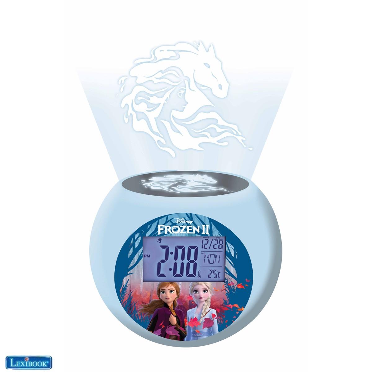 Frozen 2 Radio projector clock