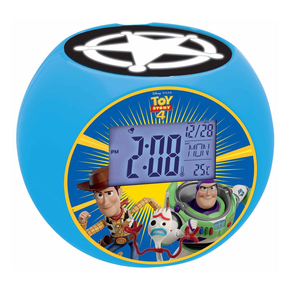 Radio projector clock Toy Story 4