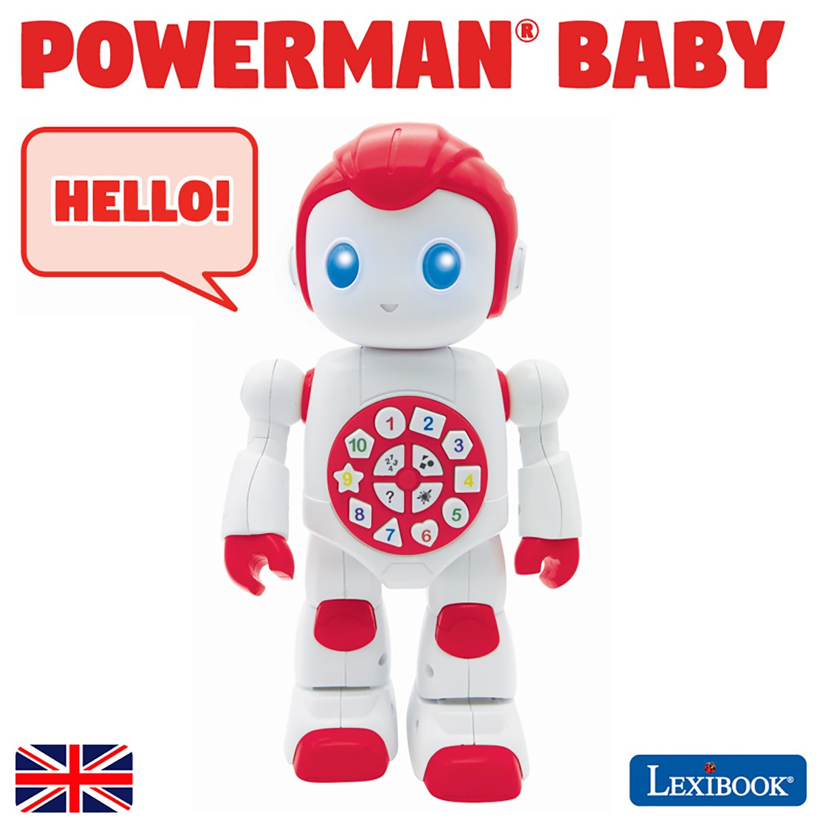 Powerman Baby Smart Interactive Toy Learning Robot Toy for Kids