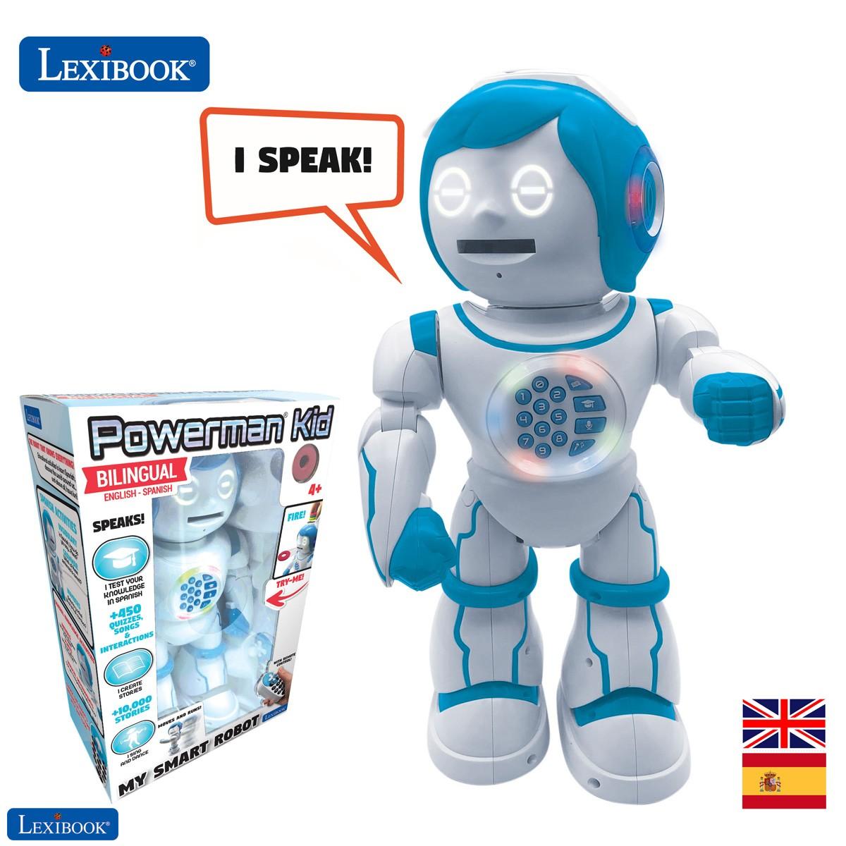 Powerman Kid - Educational and Bilingual English/Spanish Robot