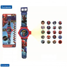 Spider-Man Adjustable projection watch  digital screen