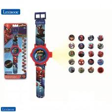 Spider-Man Adjustable projection watch  digital screen