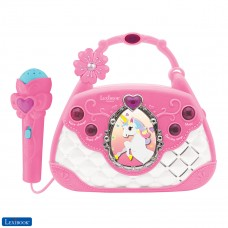 Unicorn Karaoke Bag with Microphone