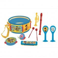 Toy Story 4 Woody Buzz Jouet Musical, Set de 7 instruments de musique