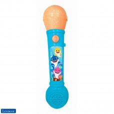 Baby Shark Lighting Microphone for children