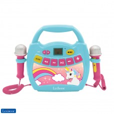 Unicorn, My first digital player karaoke with 2 toy mics