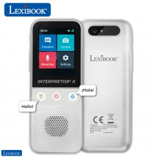 Lexibook Interpretor 2 - 137 Languages Instant Voice Translator