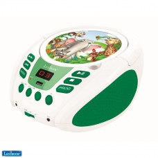 Radio CD player Animals for Kids, AUX-IN jack