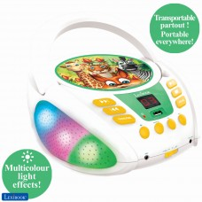 Jungle animals - Bluetooth CD player for kids – Portable