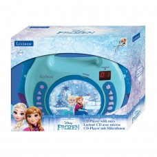 Disney Frozen CD player with microphones