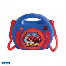 Lecteur CD avec microphones Spiderman