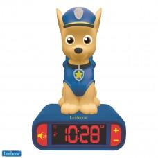 Paw Patrol Chase Nightlight Radio Alarm Clock