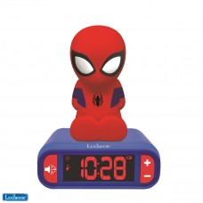 Spider-Man Nightlight Alarm Clock