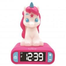 Unicorn Radio Alarm Clock with Night Light