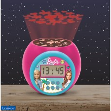 Projector Alarm Clock Barbie with snooze function and alarm function