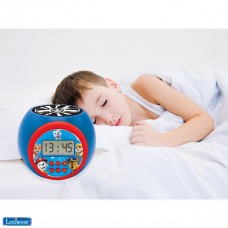 Paw Patrol Marshall,Rubble,Chase,Stella and Everest Projector alarm clock with snooze function and alarm function