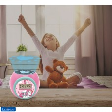 Projector Alarm Clock Unicorn with snooze function and alarm function