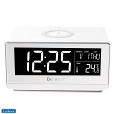 Decotech Wireless charging alarm clock