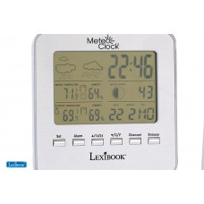 Meteoclock Silver Weather Station