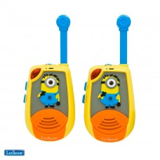 Walkie-talkies 2 km Despicable Me with the Minions in 3D rubber