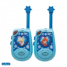 Talkies-walkies 2 km Disney La Reine des Neiges avec Elsa et Anna en 3D rubber