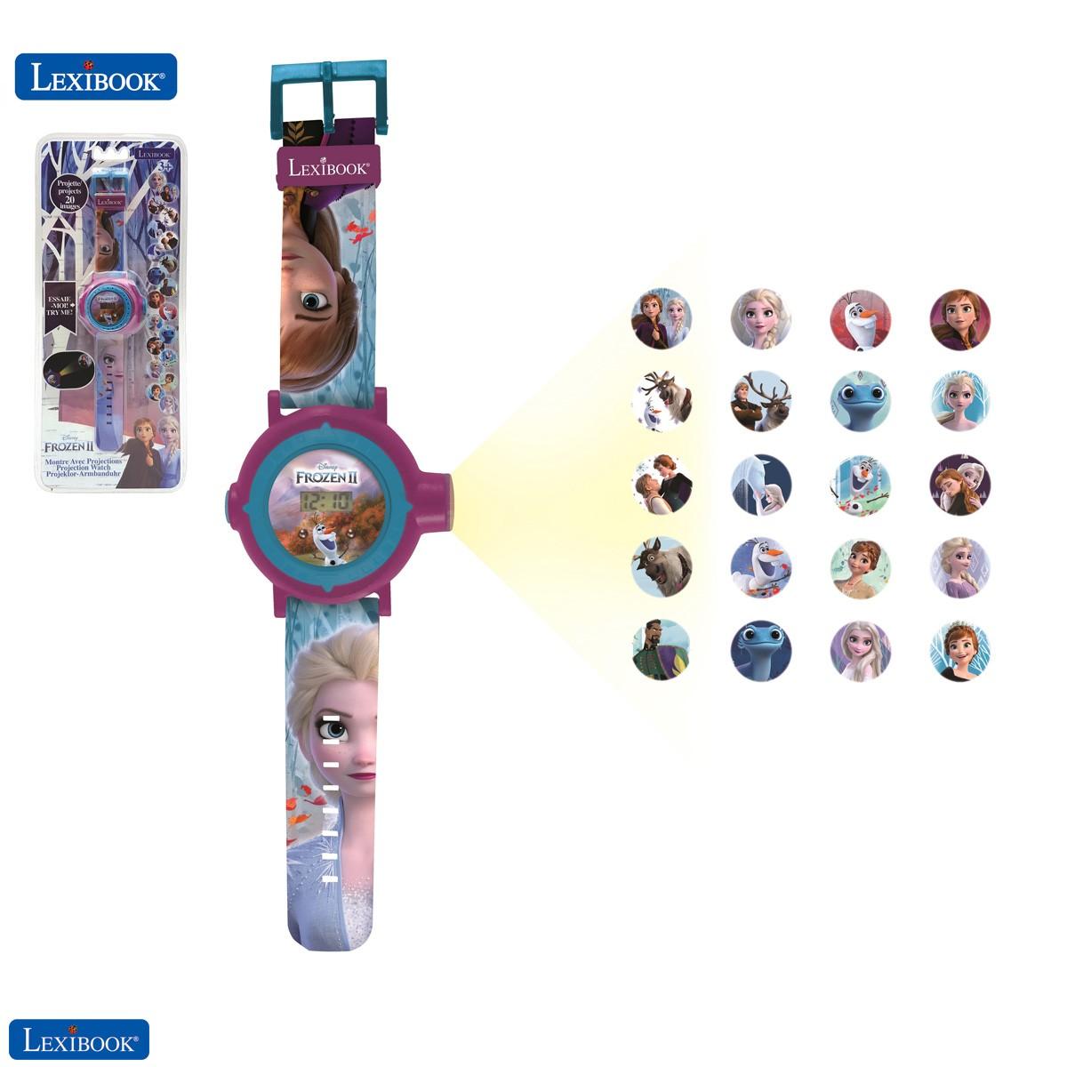 Frozen 2 - Die Eiskönigin 2 Einstellbare digitale Projektionsuhr