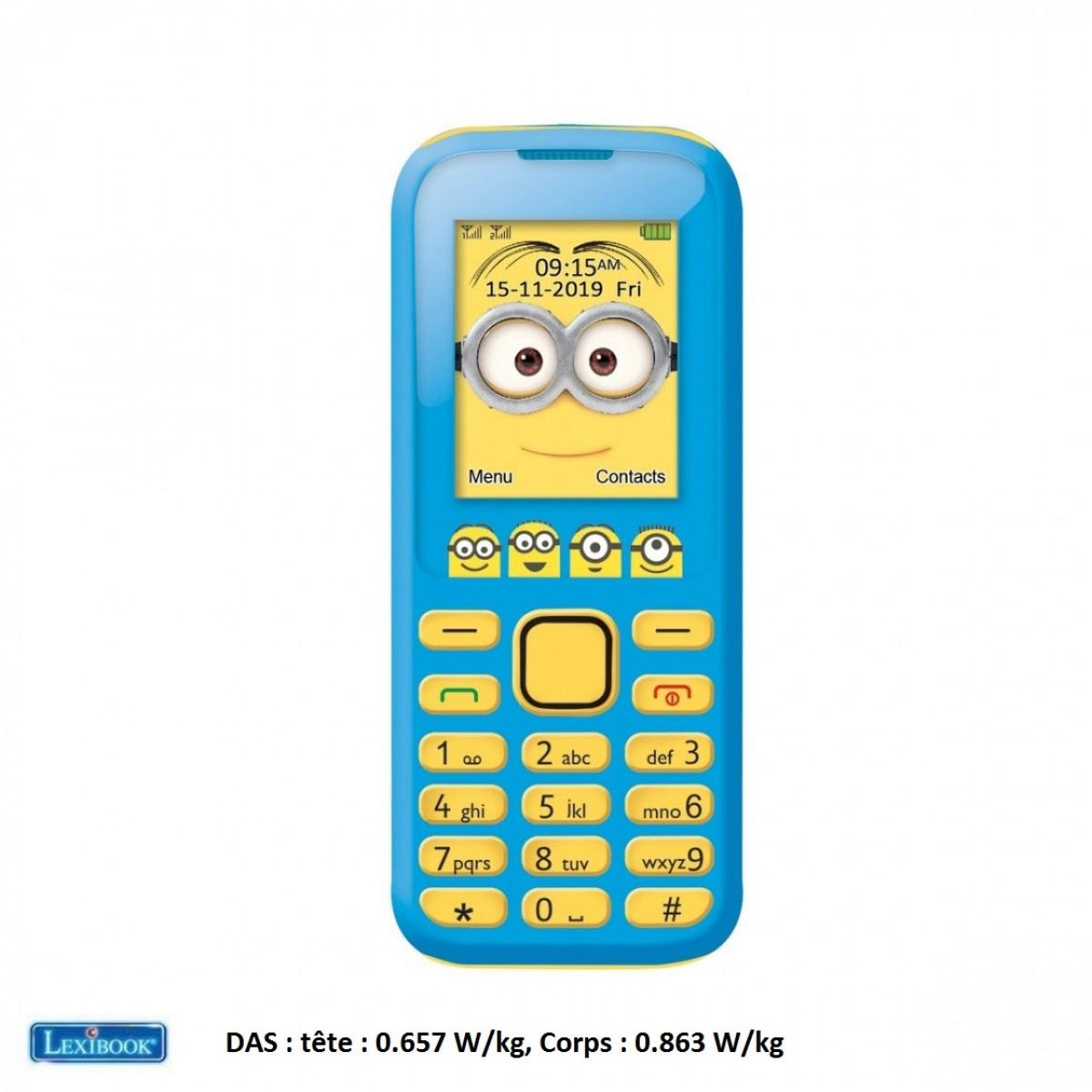 Téléphone Portable Minions Moi, Moche et Méchant