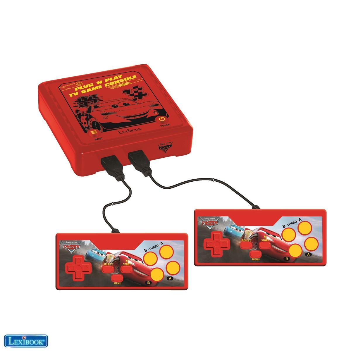 Disney Cars Plug 'N Play-Spielkonsole mit 300 Spielen