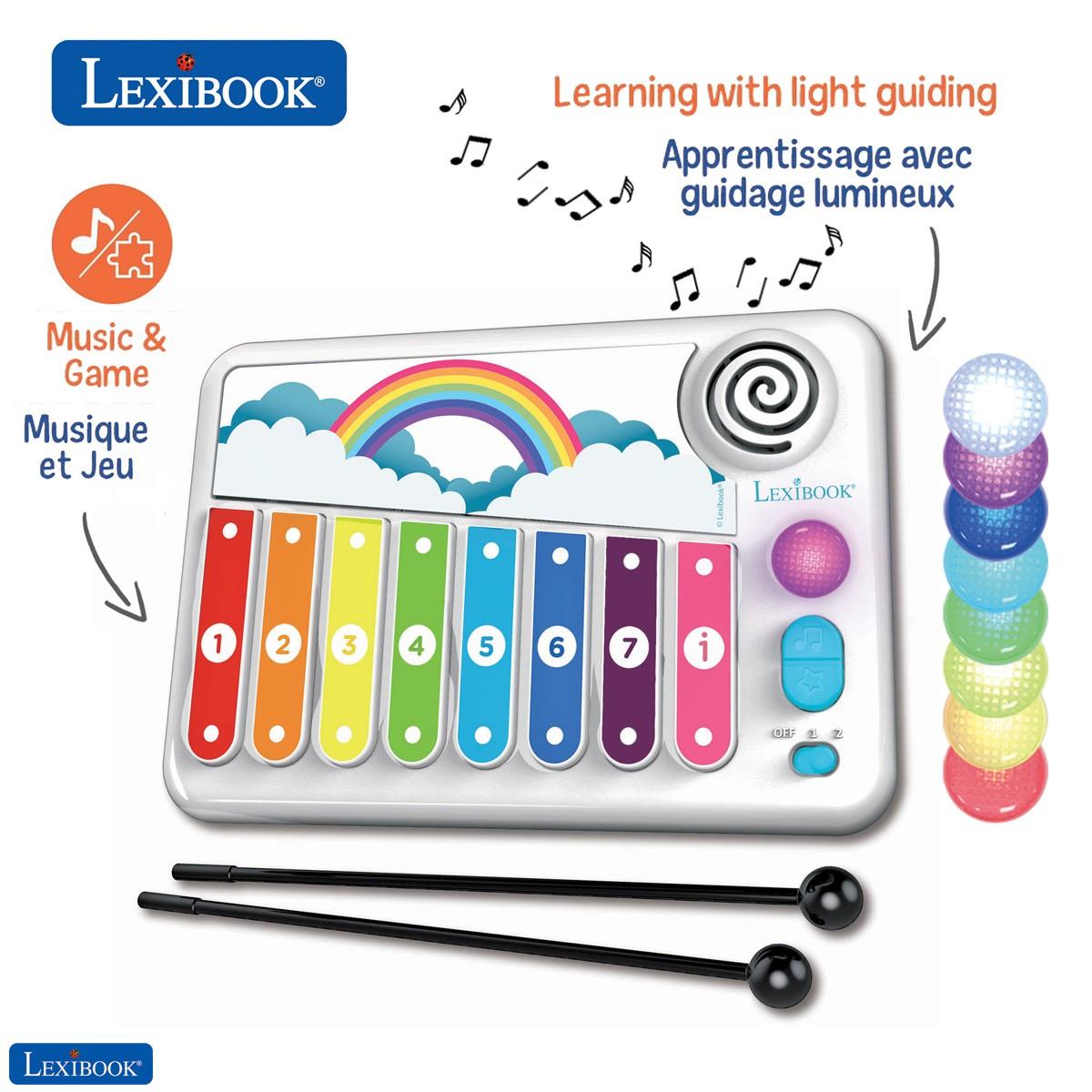 Xylofun Elektronisches und lehrreiches Xylophon für Kinder, Musikspielzeug
