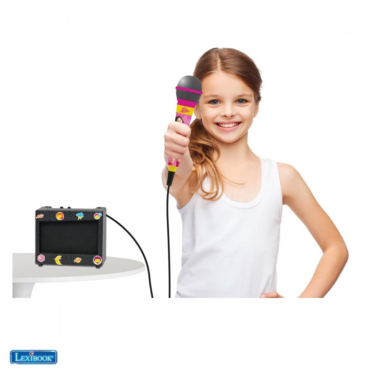 Ampli et micro Soy Luna - K900SL - Lexibook