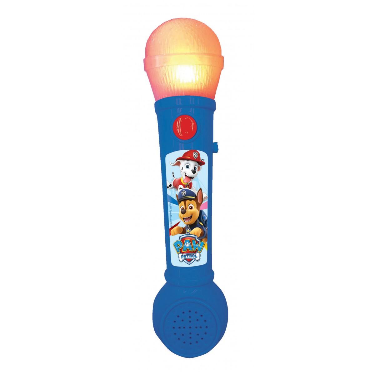 Paw Patrol Aufleuchtendes Mikrofon für Kinder