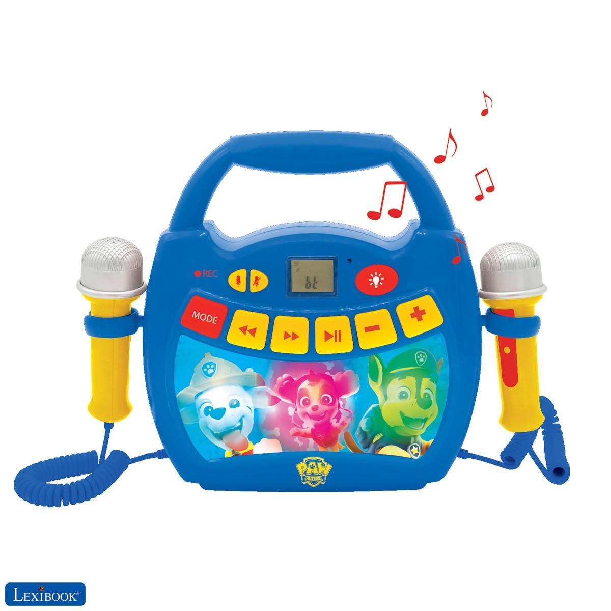 Paw Patrol - Tragbarer digitaler Karaoke-Player für Kinder