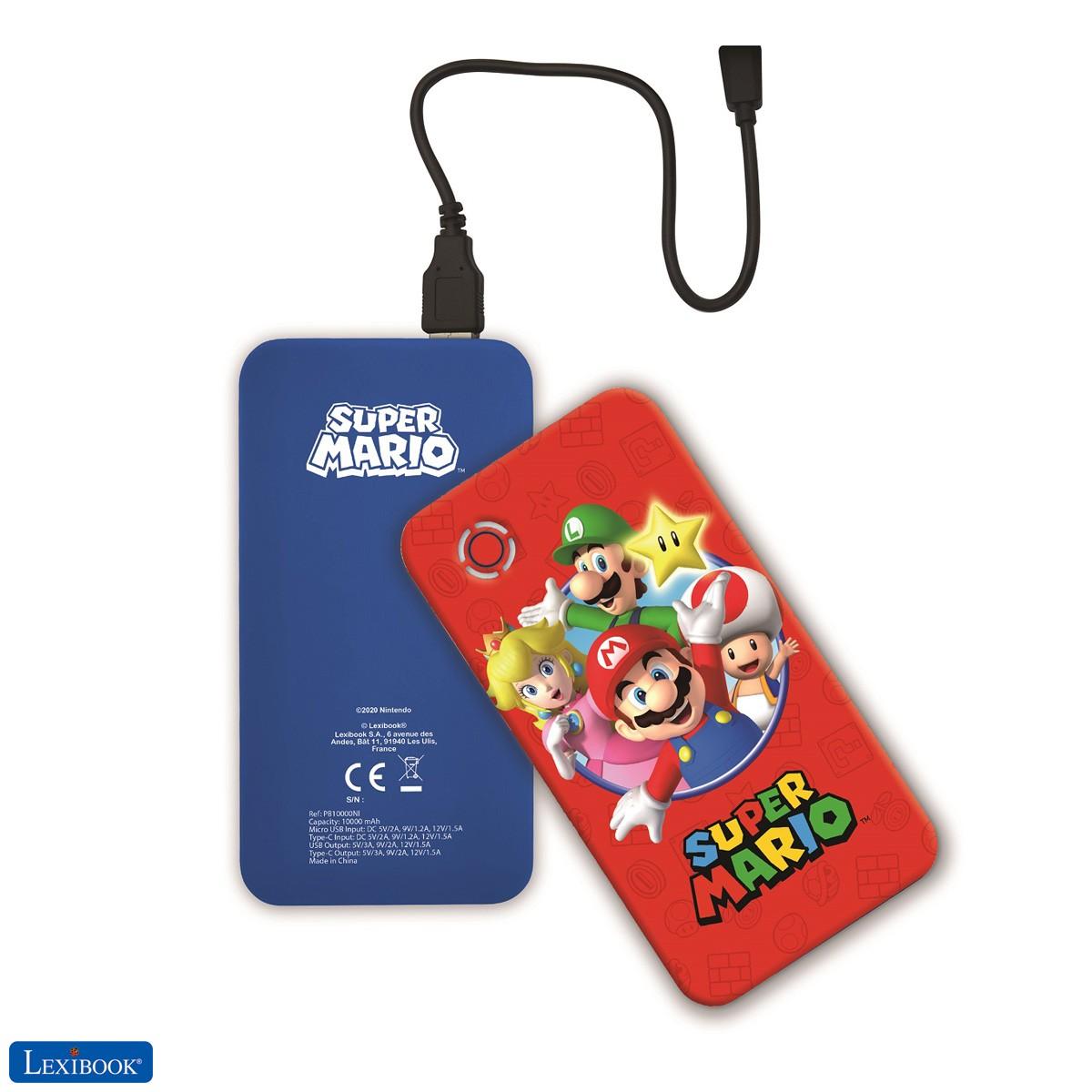 Nintendo Super Mario Luigi Schnelllade-Powerbank