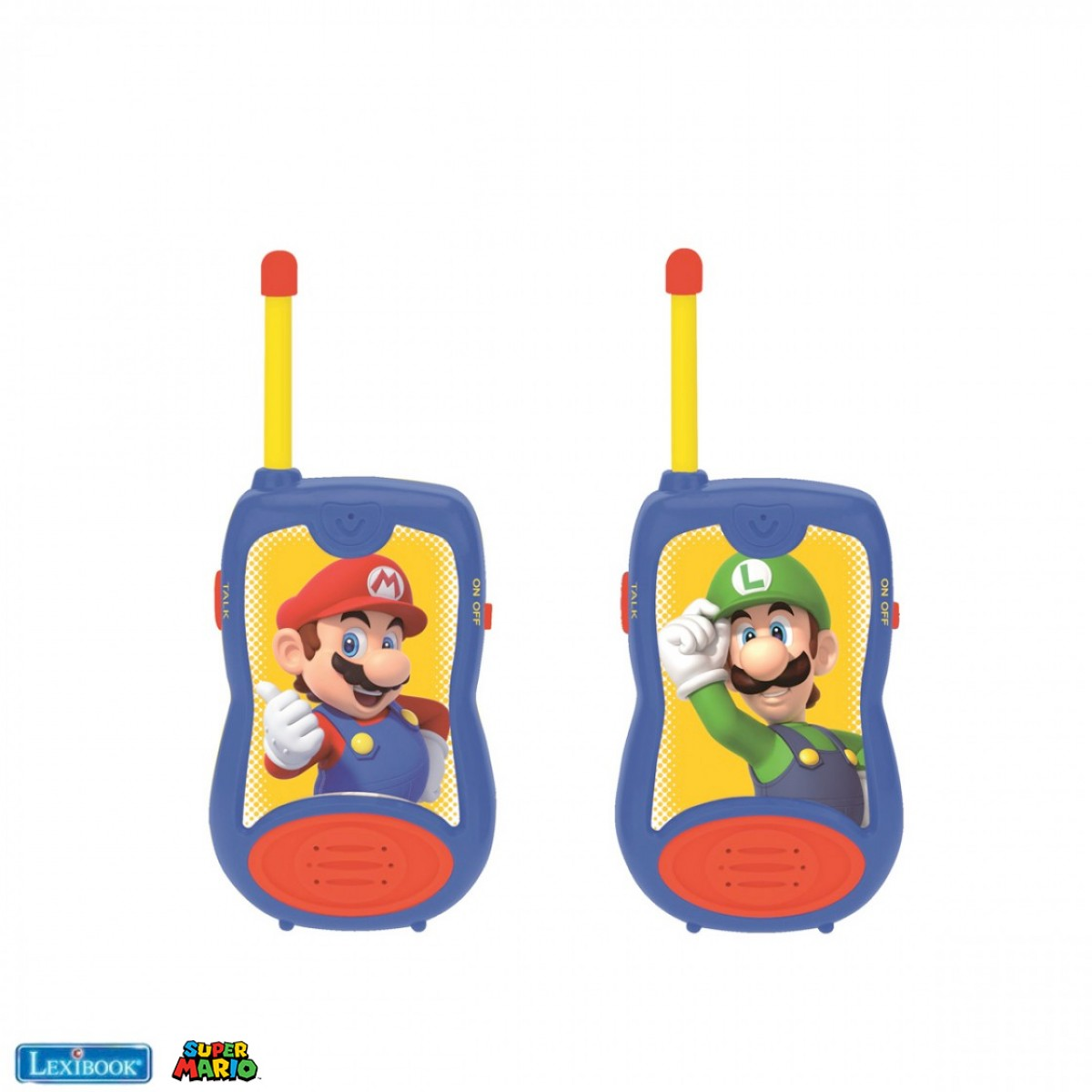 Super Mario Walkie-Talkies, Gürtelclip, Batterie, für Kinder / Jungen