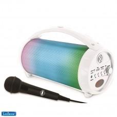 iParty - Tragbarer Bluetooth-Lichtlautsprecher mit Mikrofon, Stereoanlage