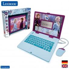 Disney Frozen 2 - Zweisprachiger Laptop für Bildungszwecke Englisch und Deutsch